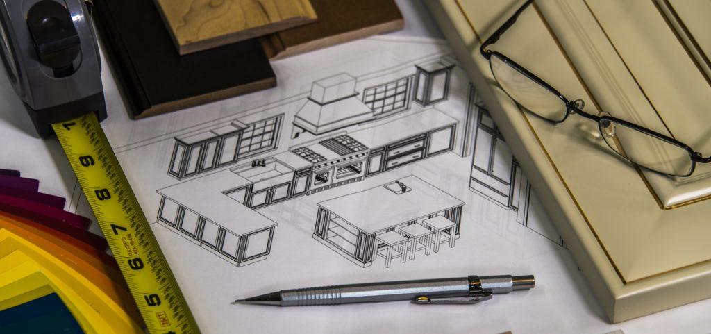 general contractor remodeling sketch