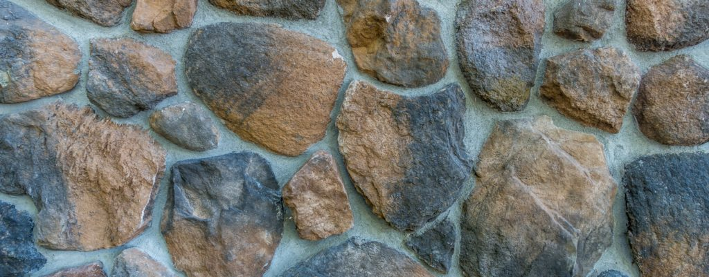 close up of rock wall
